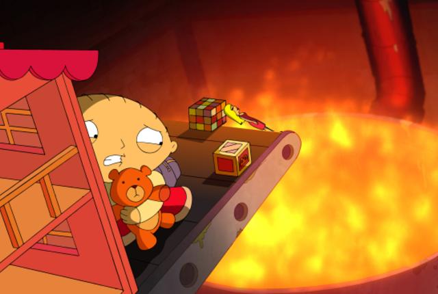 Stewies teddy