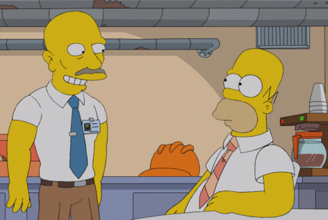 Homers baldness