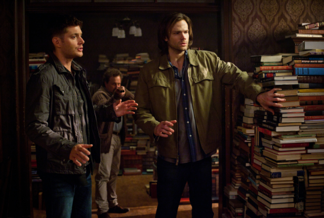 Sam dean and metatron
