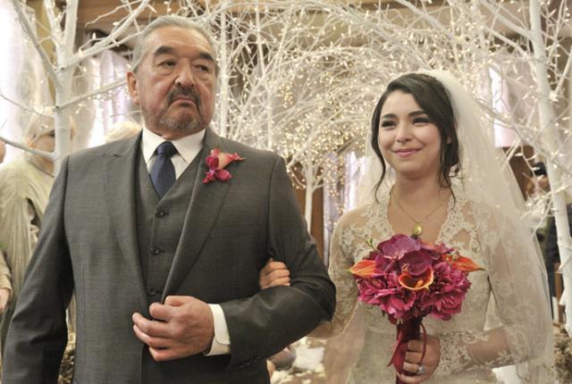 Christies wedding day
