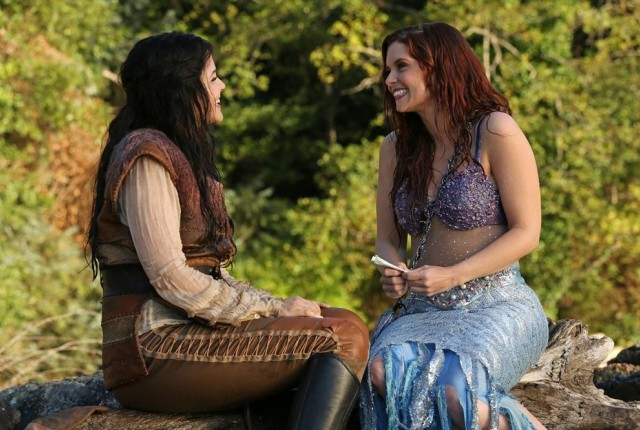 Snow and ariel