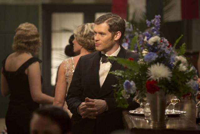Klaus in a tux