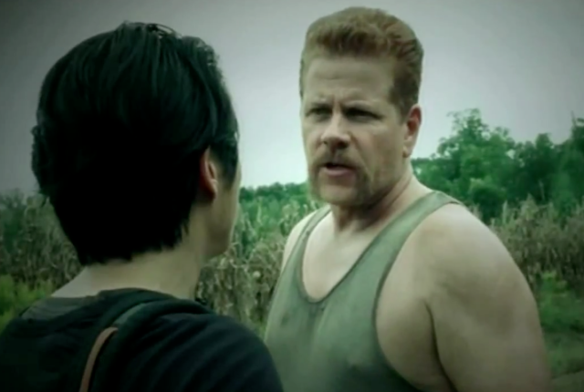 Michael cudlitz on the walking dead