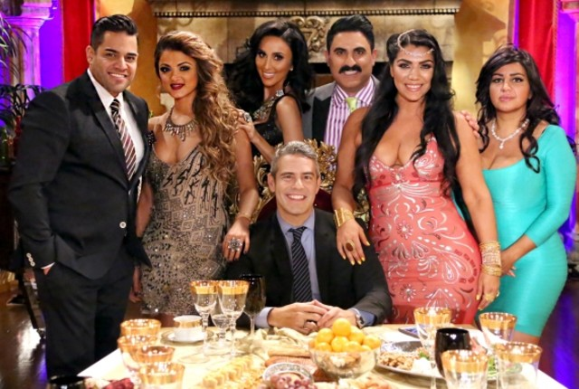 Andy cohen and the shahs of sunset