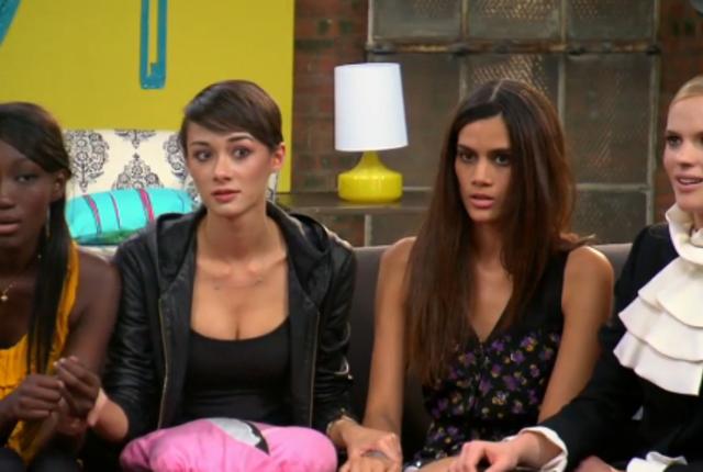Contestants in shock