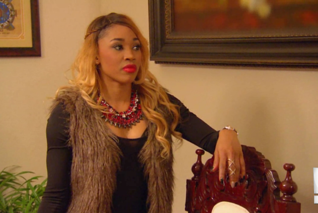 Ariane on total divas