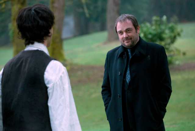 Mark shepard as crowley and theo devaney as gavin