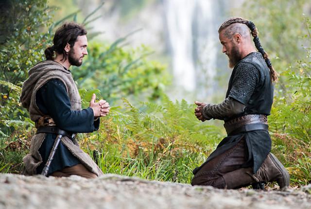 Athelstan and ragnars unique friendship