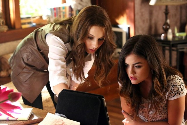 Scouring for answers pretty little liars