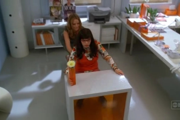 Betty-at-her-new-desk