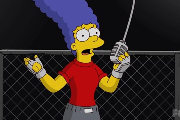 Marge-takes-the-mic