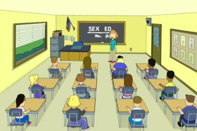Lois-teaches-sex-ed