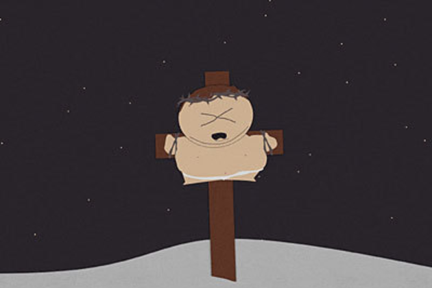 Cartman-on-the-crucifix