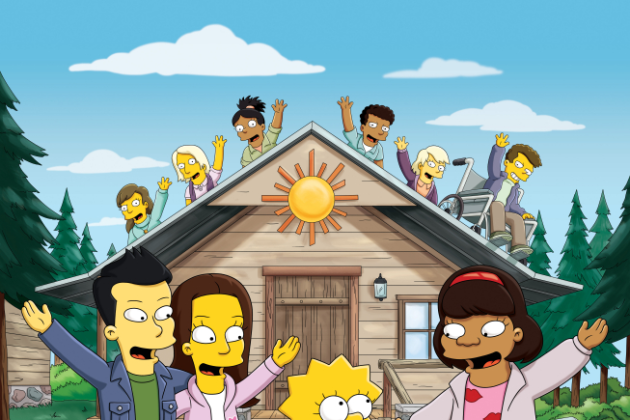 Glee-on-the-simpsons