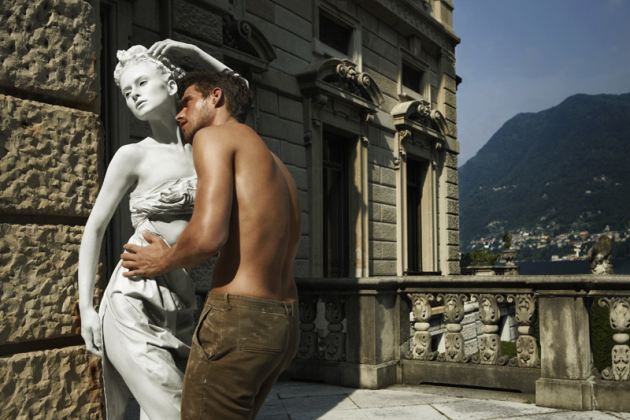 Statue-like