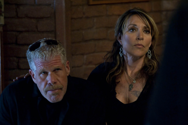Katey-segal-and-ron-perlman