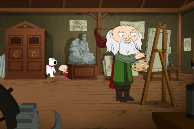 Da-vinci-on-family-guy