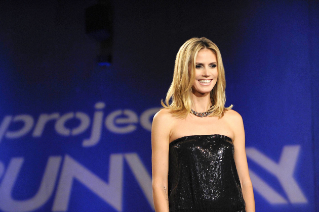 Heidi-klum-on-project-runway