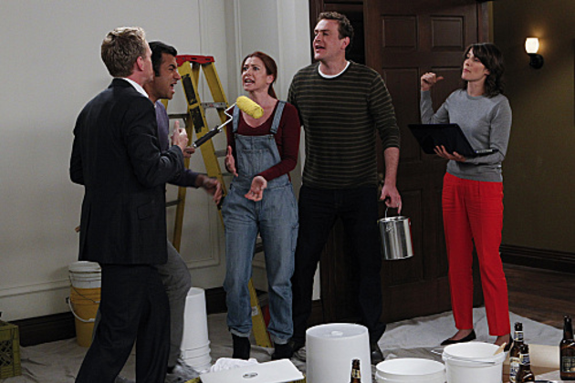 Himym-fight