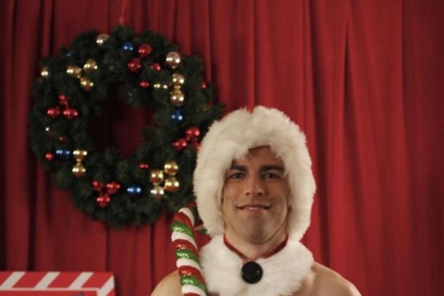 Schmidt-as-santa