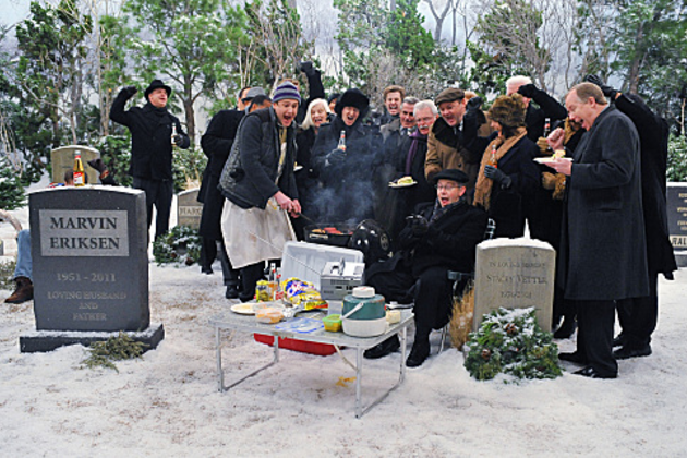 Grave-site-tailgating