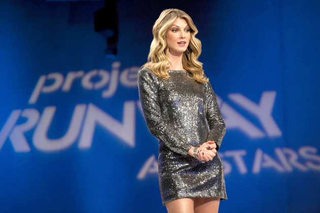 Angela-lindvall-on-the-project-runway