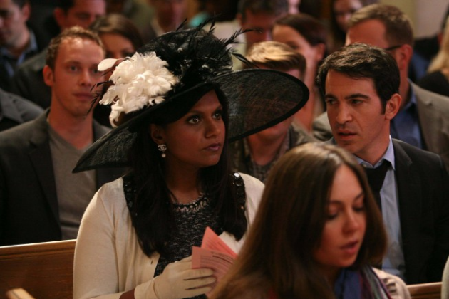 Mindy-attends-church