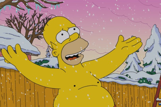 Shirtless-homer-in-wonderland