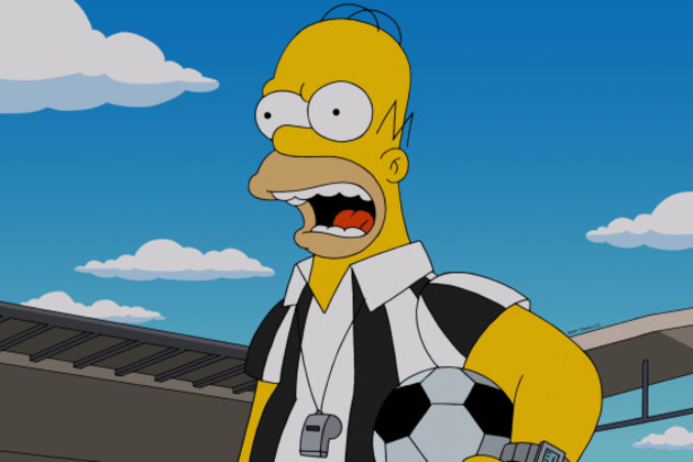 Homer-the-referee