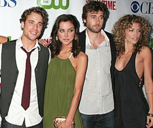 90210 Actors Attend Cast Party