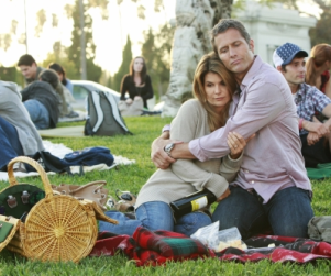 "A Montage of 90210 Photos from ""Hollywood Forever"""