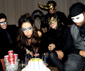 Jessica Lowndes and Friends Celebrate Birthday