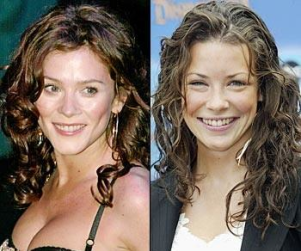 Pushing Daisies Lookalike: Anna Friel and Evangeline Lily