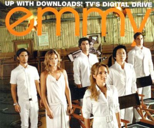 Cast of Heroes on Emmy Magazine Cover