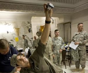 Milo Ventimiglia Supports the Troops