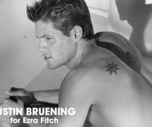 Justin Bruening: Black. White. Sexy.