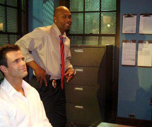 Cameron Mathison, Torri Hunter Film Fantasy Baseball Commercial