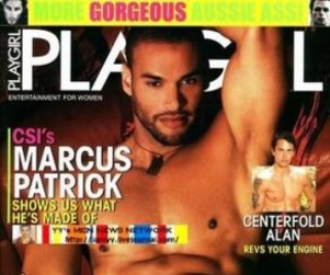 Marcus Patrick in Playgirl!