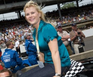Alison Sweeney at the Indy 500