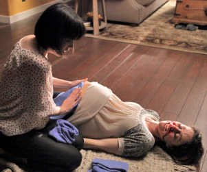 Violet to Survive, Katie to Be Tried on Private Practice