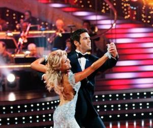 Dancing with Stars Unites Julianne Hough, Chucks Wicks