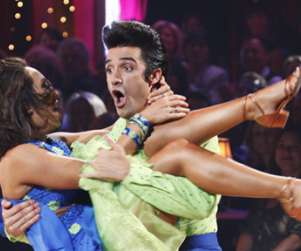 Cheryl Burke Dishes on Dancing Competition, Gilles Marini Shirtless
