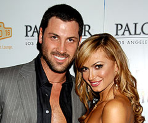 Maksim Chmerkovskiy is Totally in Love with Karina Smirnoff