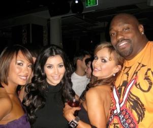 Kim Kardashian Kanoodles with Dancing Kohorts