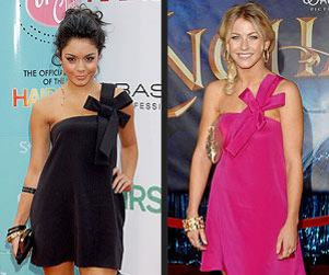 Celebrity Fashion Face-Off: Julianne Hough vs. Vanessa Hudgens