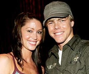Derek Hough is Living with Shannon Elizabeth