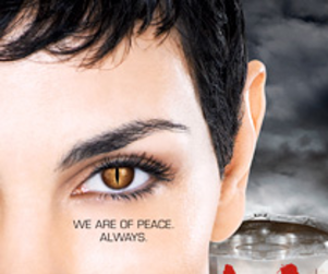 New V Poster: We Are Of Peace. Always.