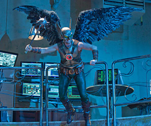Michael Shanks as Hawkman: Smallville Interview, First Look