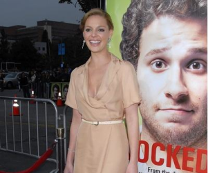 Katherine Heigl at Knocked Up Premiere