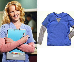 Katherine Heigl Endorses New Scrubs Line